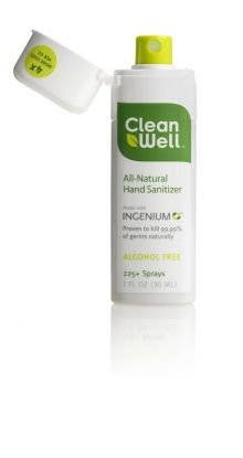 Clean Well Natural Hand Sanitizer Wipes Orange Vanilla 40 Ct