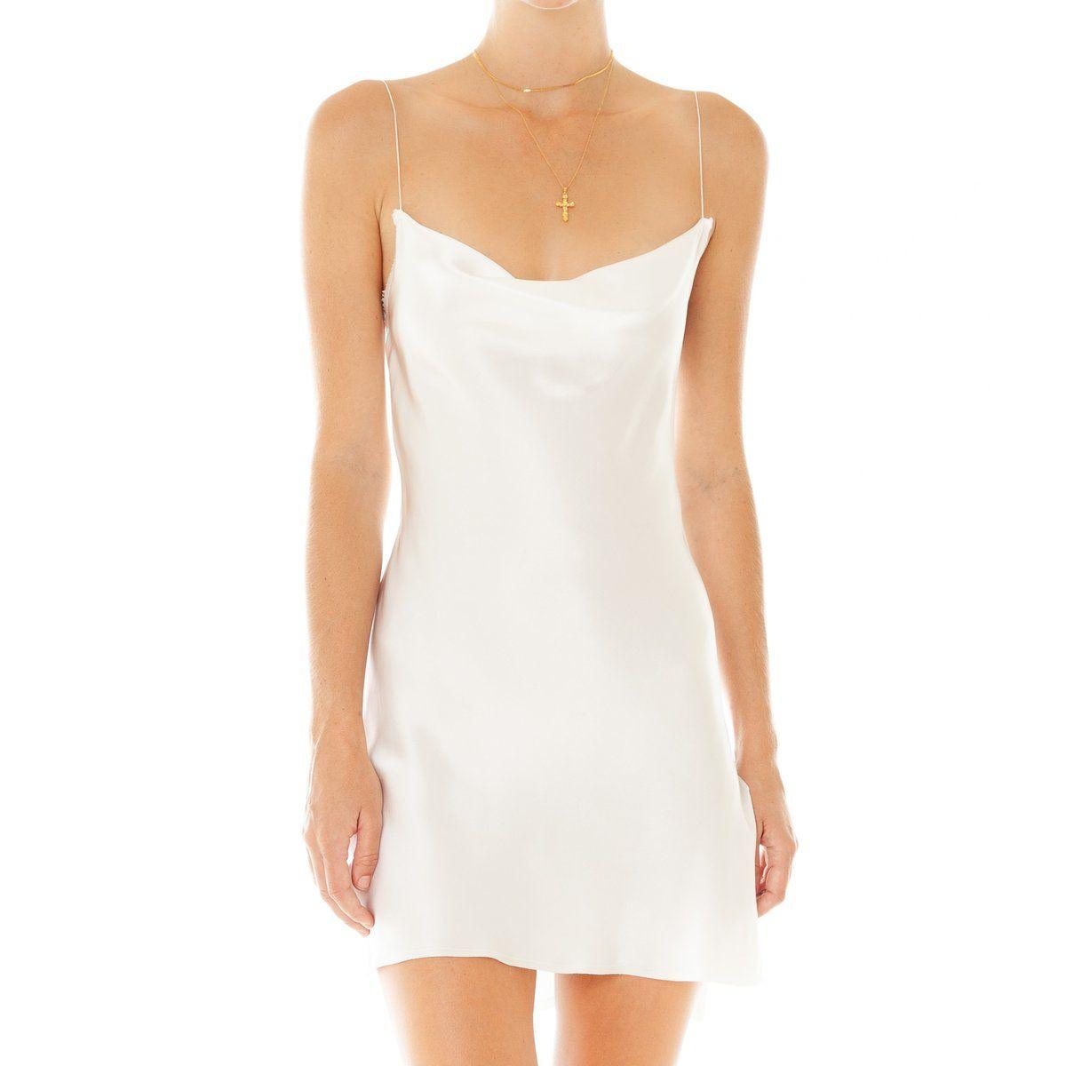 The Covetable Issa Ivory Luxury Silk Slip Dress Olivia Von Halle Slip Wedding Dress Silk Slip Dress Slip Dress [ 1155 x 810 Pixel ]
