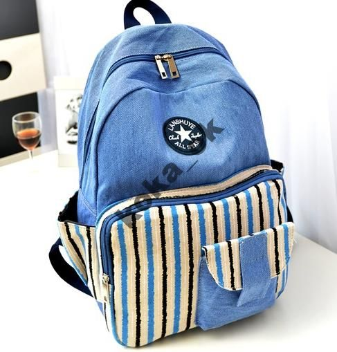 9cfe2b1d6ef3 Рюкзак городской женский, рюкзак молодежный Джинс | Рюкзак городской ...