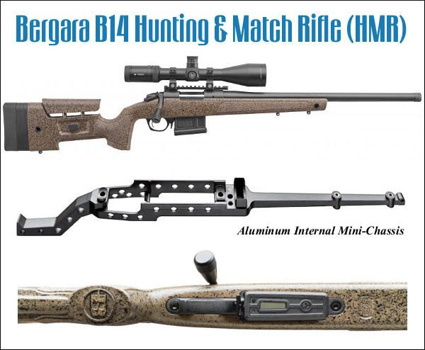 Bergara HMR rifle PRS production class 6 5 Creedmoor  308