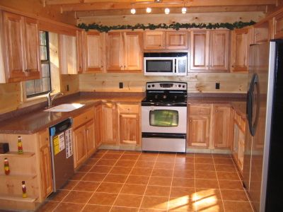 17 Best images about lodge decor hickory cabinets on Pinterest ...