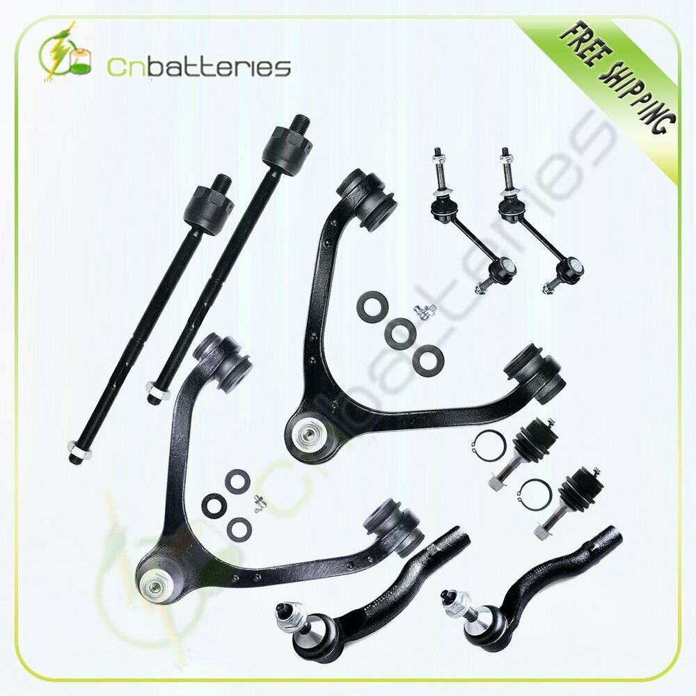 Ad Ebay 10pc New Complete Front Suspension Kit Ball Joint For 2003 2011 Mercury Maurader Grand Marquis Ebay Mercury Marauder