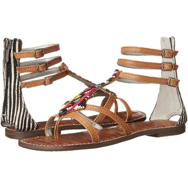 Womens Sandals Sam Edelman Giselle Soft Saddle/Black/Ivory
