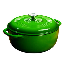 Color Enamel Cast Iron Dutch Oven, 6 qt by Lodge Cast Iron  $99.95 #mightynest