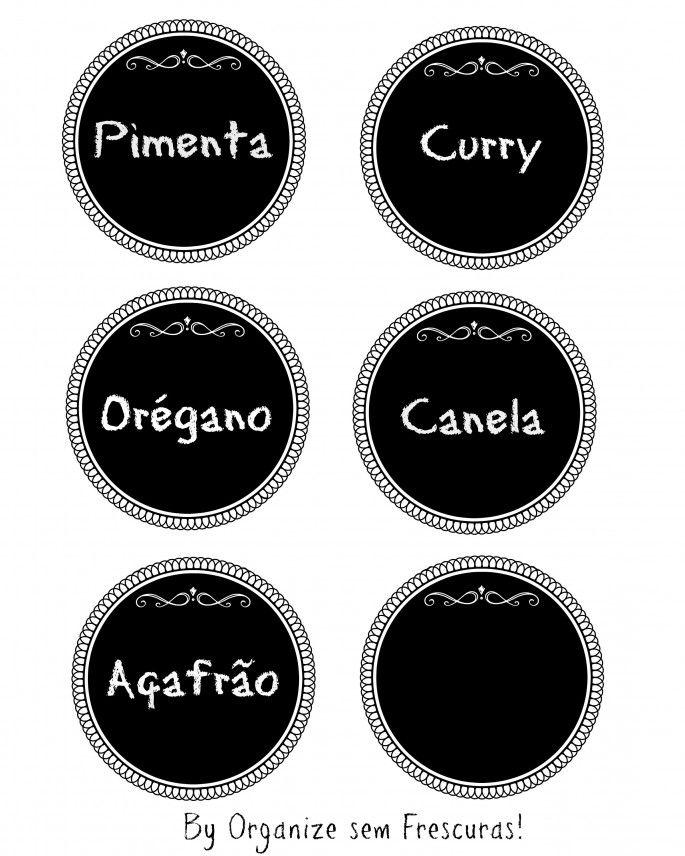 Etiquetas Organizadoras E Fofas Para Imprimir Rotulos Para