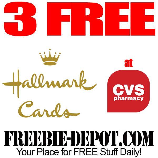 ►► 3 FREE Hallmark Greeting Cards at CVS ►► #CVS, #Free, #FREEWithCoupon, #Freebie, #Hallmark ►► Freebie-Depot