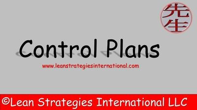 Updated Slides For A Control Plan Sustain Controlplan