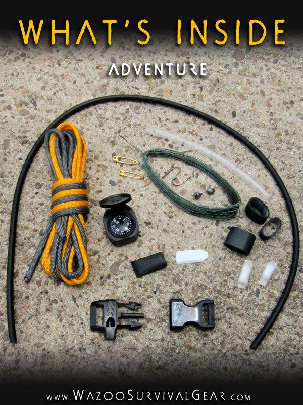 Adventure Bracelet Survival Gear Survival Fishing Paracord