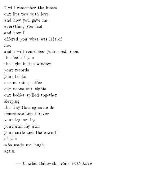 raw with love poem - Google zoeken