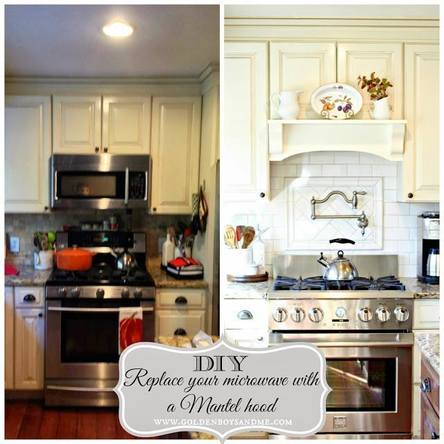 Replace Built In Microwave With Range Hood Google Search Home Kitchens Kitchen Makeover Kitchen Inspirations