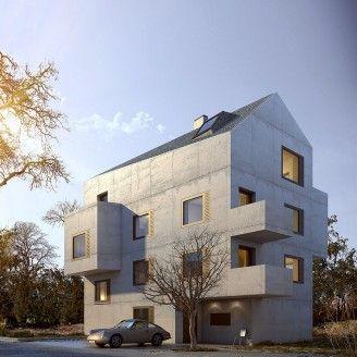 Architektur rendering business pinterest - Renderings architektur ...