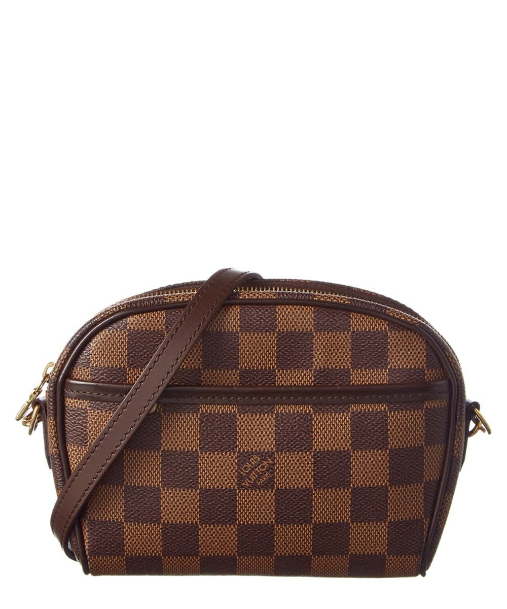 c81ea1f9e93 LOUIS VUITTON Louis Vuitton Damier Ebene Canvas Ipanema Pochette .   louisvuitton  bags