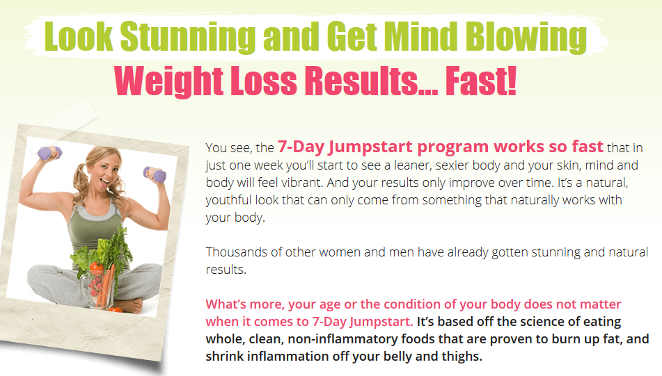 7 Day Jumpstart Diet May PDF Download. Discover