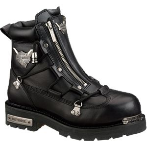 """Harley-Davidson Boots 4/"""" Dead Skull Motorcycle Boot Straps"""