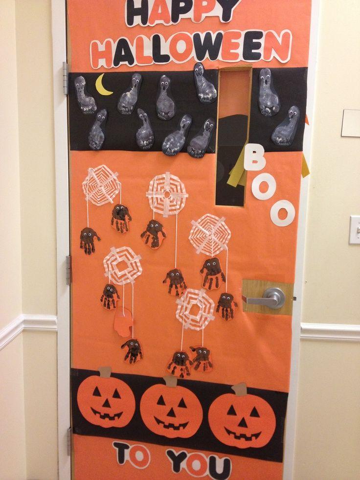 Classroom Decorations Uk ~ Halloween door decoration idea classroom boards