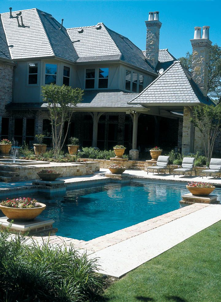 Straight line pools dallas fort worth pools pinterest custom pools pool builders and pool for Swimming pool builders fort worth