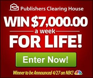 Pch sweepstakes mailing address
