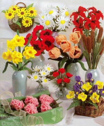 crochet flower/bouquet