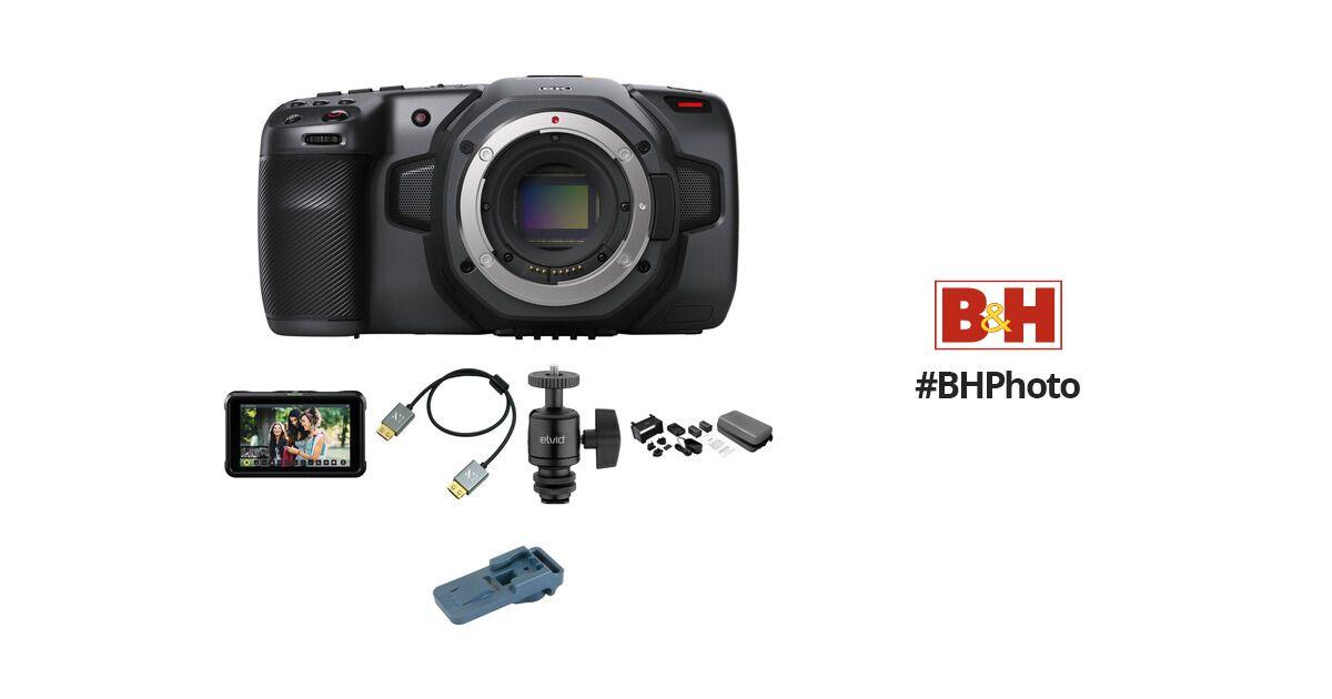 Blackmagic Design Pocket Cinema Camera 6k Pro Monitoring Kit In 2020 Cinema Camera Blackmagic Design Camera