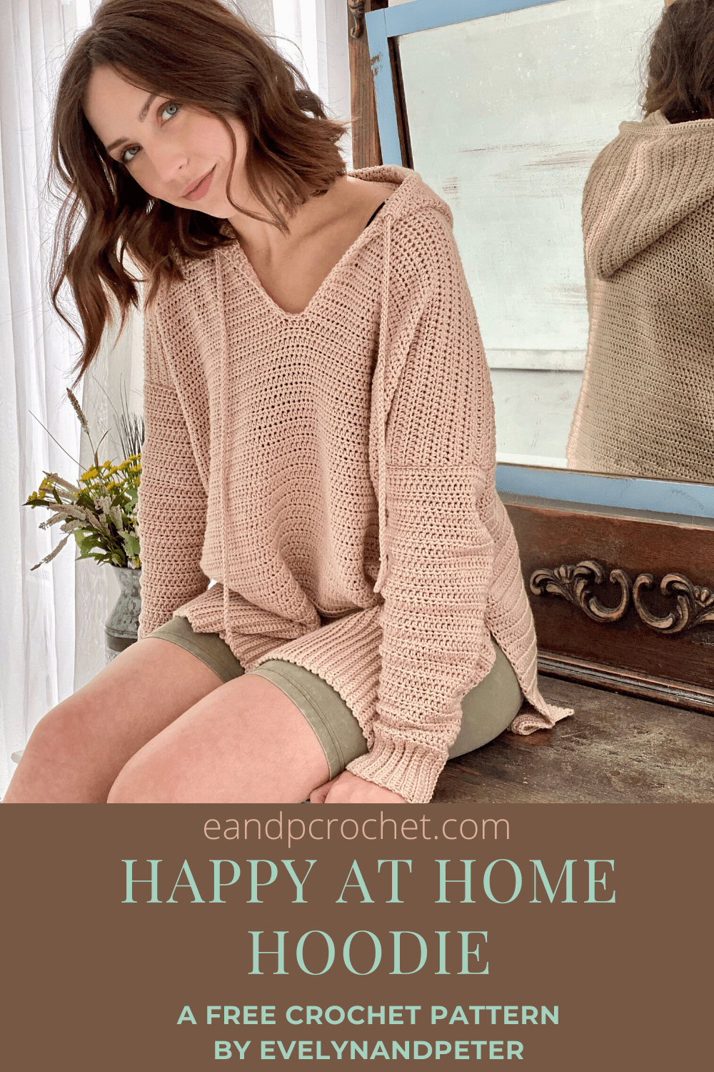 Happy At Home Hoodie Pattern - Evelyn And Peter Crochet