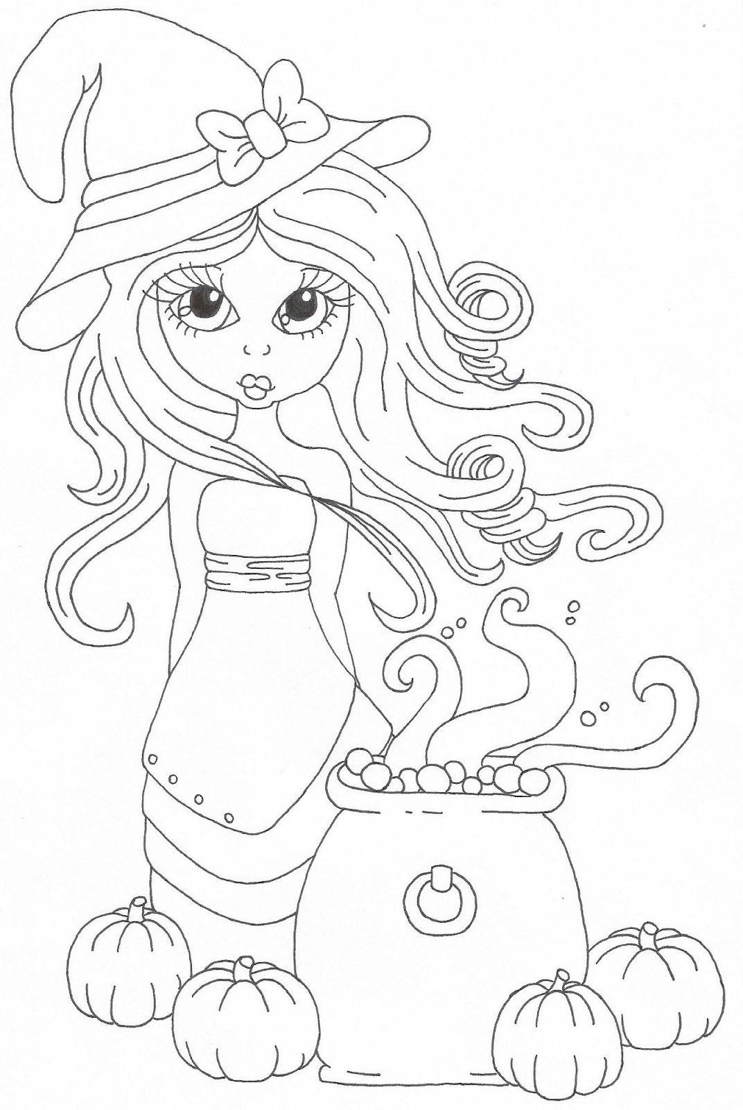 Cuddlebug Cuties: Hallows Eve | junes mixed | Pinterest | Colorear ...
