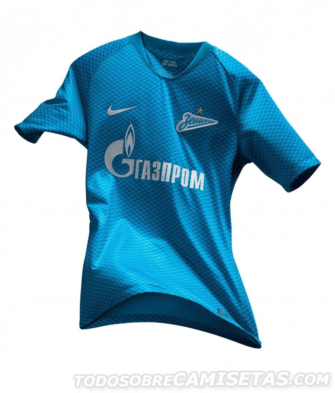a93796f2fe5 FC Zenit Nike Home Kit 2018-19