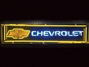 Chevrolet Bowtie Neon Sign Chevrolet Bowtie Neon Signs