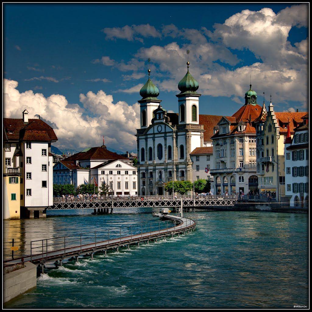 Best Places To Travel Europe April: Photo Gallery Of Luzern - High-Quality