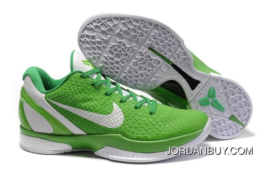 sports shoes 0c80b 13c1b Ken Griffey Shoes Nike Zoom Kobe 6 Grass Green White  Nike Zoom Kobe 6 -  Check out this new colorway in the Nike Zoom Kobe 6 Grass Green White.