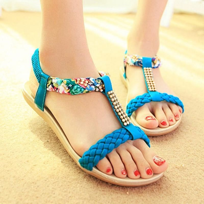 New women/'s shoes fashion jelly sandals t strap open toe casual summer yellow