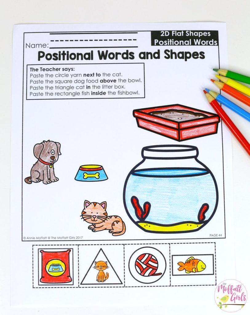Workbooks solid shapes worksheets : Kindergarten Math Curriculum: Shapes   Kindergarten math, Math and ...