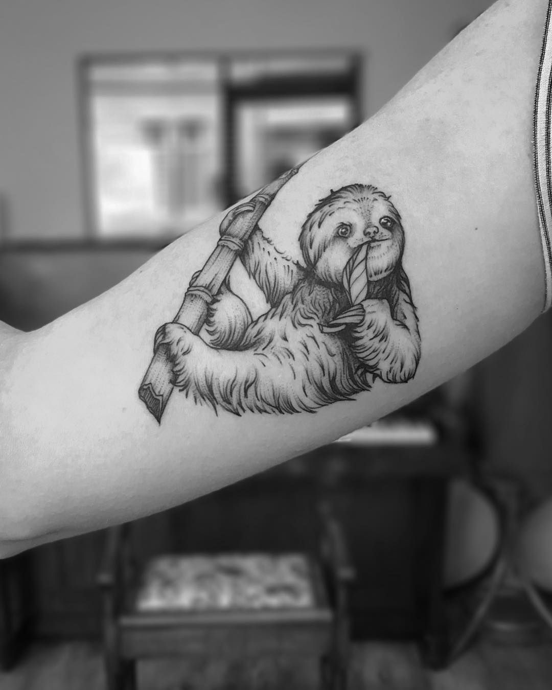 Pin By Tiffany Tuite On Body Modification Sloth Tattoo Full Sleeve Tattoos Tattoos