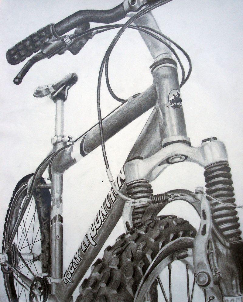 Risd Bike Drawing By Feildcdeviantartcom On At Deviantart Pencil