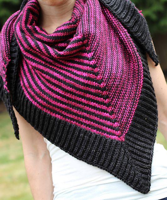 patron-tricot-gratuit-châle-cherry-brioche | tricots et crochets ...