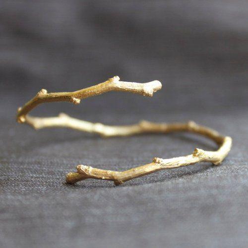 beautiful twig bracelets!