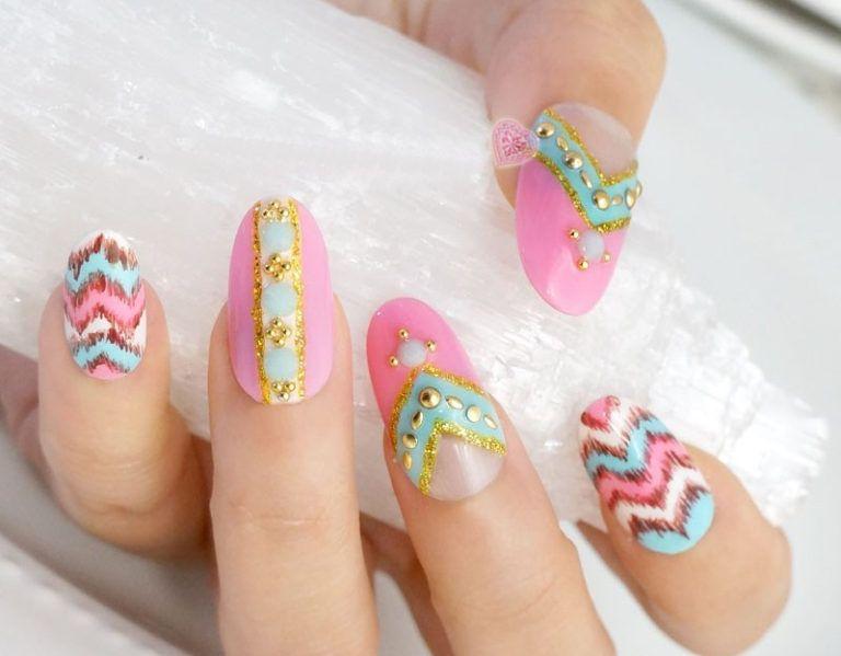 Great Japanese Nail Art Design For Brides Nail Designs Pinterest