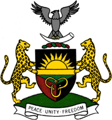 biafra coat of arms biafra wikipedia the free encyclopedia rh pinterest com