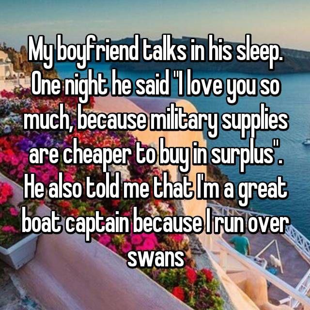 love talks with boyfriend