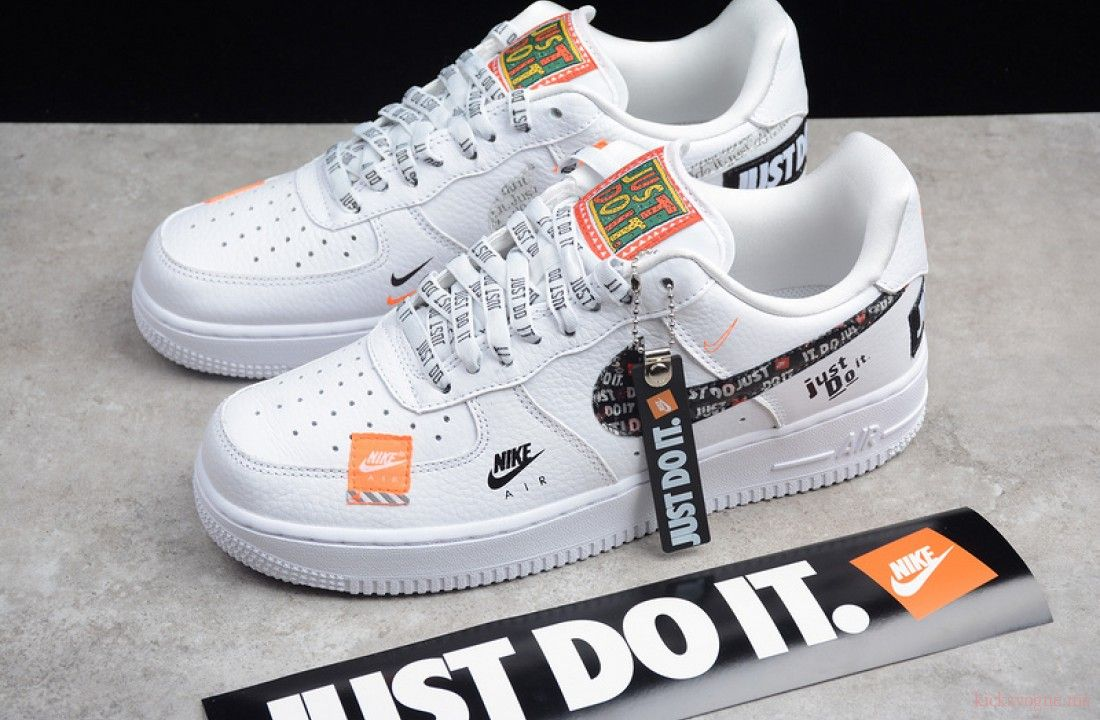 Nike Air Force 1 Low Just Do It Pack White Ar7719 100 In 2020