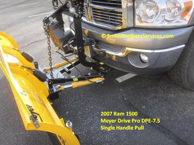 2007 Dodge Ram 1500 Meyer Drive Pro 7 6 Single Pull Snow Plow Repair Meyer