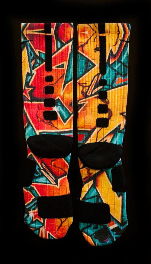 sports shoes 9ba1c afeed ... Custom Nike Elite Socks - Thesockgame.com — Kobe8 ...
