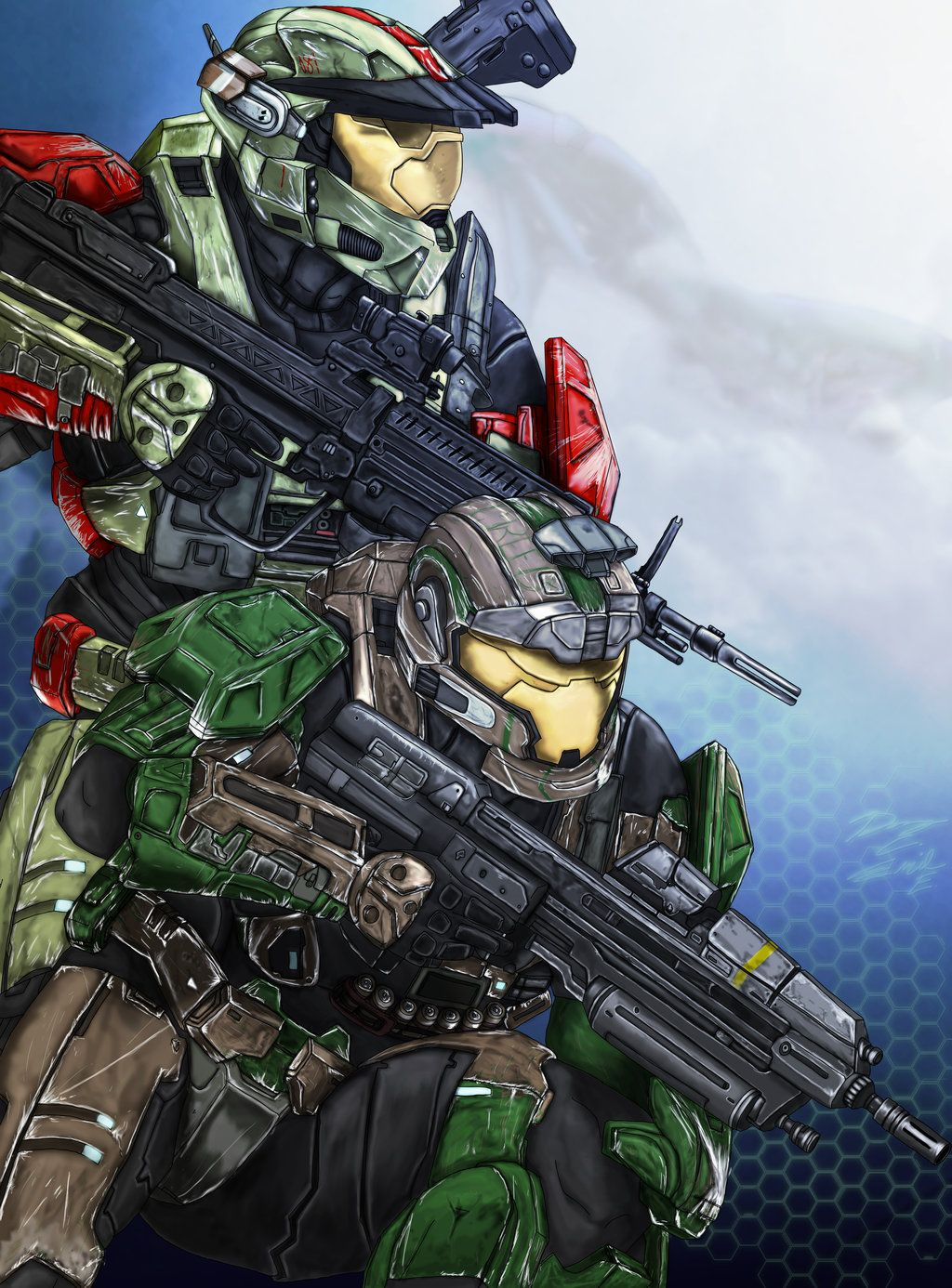 Challenge Reward: Spartans - Breach and Clear by ~Guyver89 ...