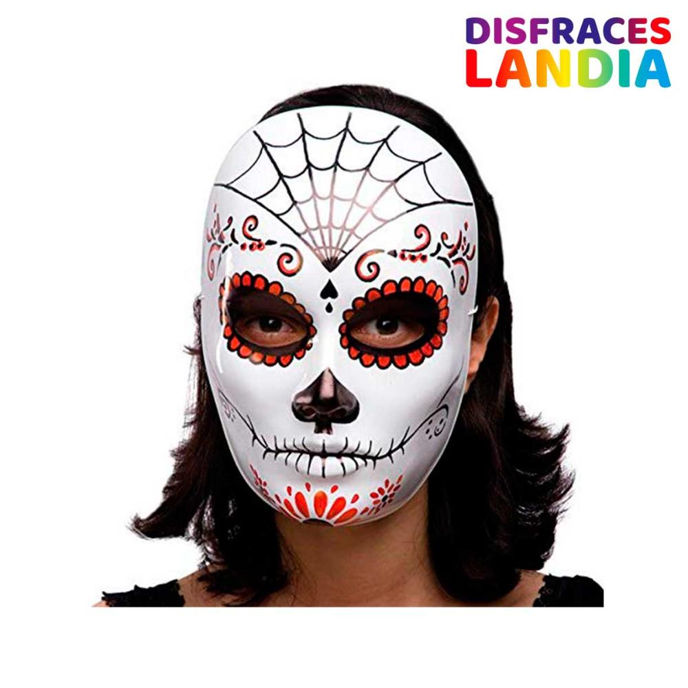 Máscara de Esqueleto Mexicana en 2020 Halloween sugar