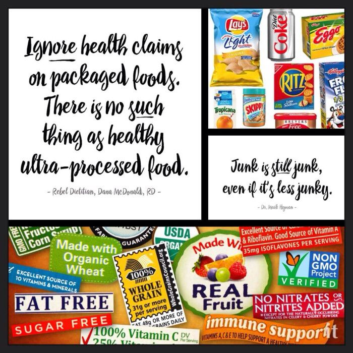 Ignore Health Food Claims