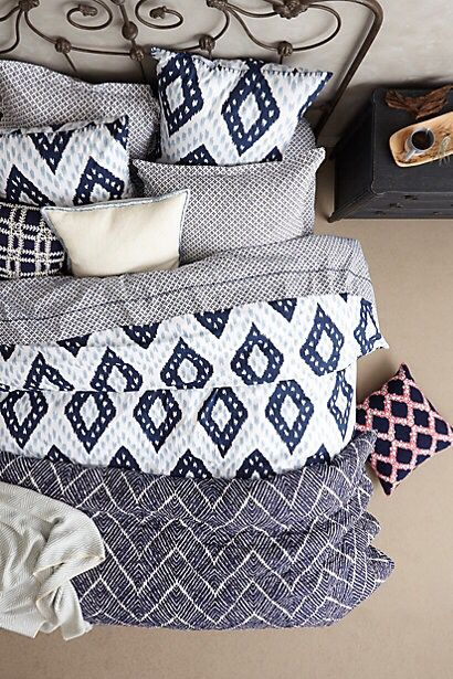 Pin by Salina Williams on Textiles : Pinterest : Bedrooms ...
