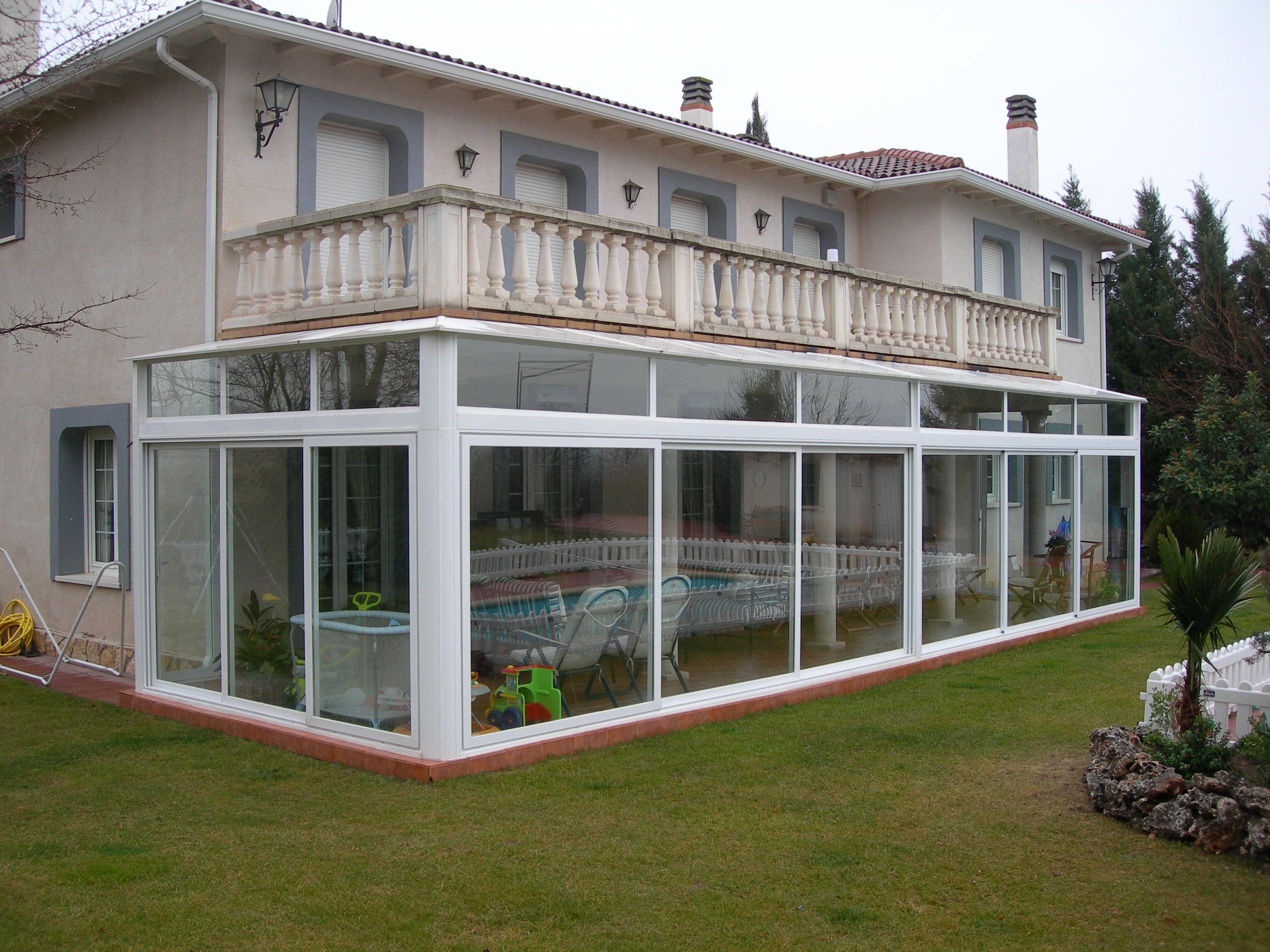 Cerramiento aluminio terraza finest terrazas de aluminio with cerramiento aluminio terraza - Aluminios escaso ...