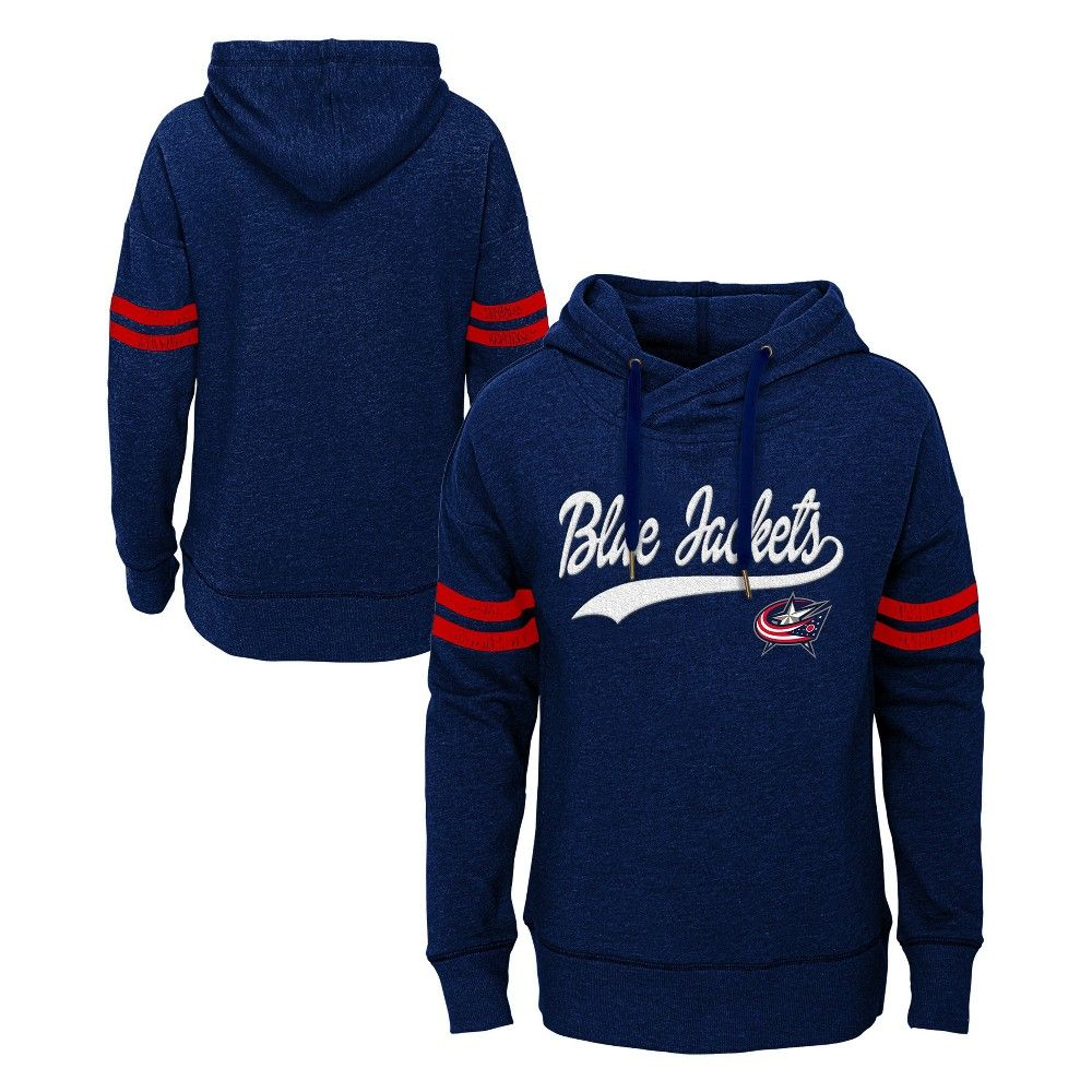 ec7803d084f Cheer on the Columbus Blue Jackets in style with this official NHL Girls  fleece hoodie. This sports apparel top makes your allegiance unmistakable  with ...