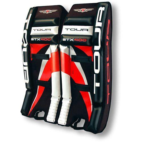 ccc54e55703 Tour Hockey 400 Senior Roller Hockey Goalie Pads -  http   hockeyvideocenter.com