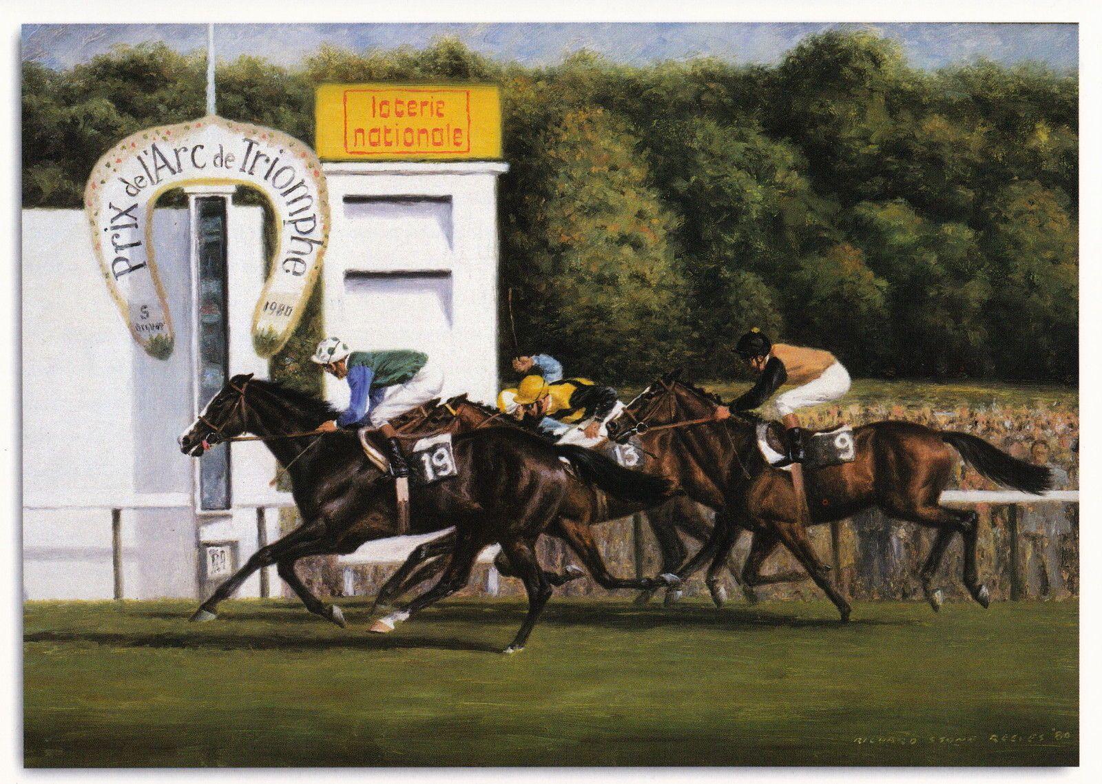 Detroit photo from oil painting 1980 Prix de L'are de Triomphe   eBay