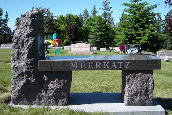 Montana Memorial Art Headstones Memorial Benches Cemetery Decorations